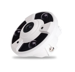 ADF3 Series InDoor FishEye IR Dome HD-AHD Camera